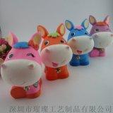 深圳廠家直銷禮品存錢罐、搪膠儲蓄罐訂做廠家