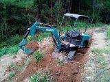 驭工YG15-9农用小型挖掘机 挖管沟用的小勾机