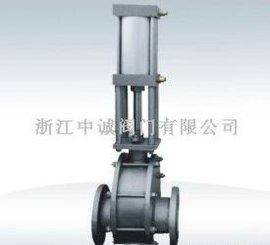 气动陶瓷双闸板出料阀(Z644TC)