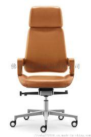 虹桥老板椅办公椅大班椅书房椅子电脑椅家用 旋转椅 皮艺座椅升降