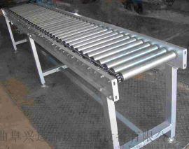 双层动力滚筒输送线多层分拣 线和转弯滚筒线