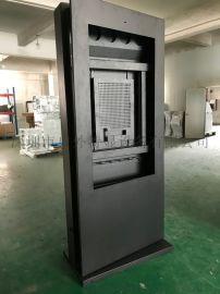 55寸落地式户外广告机外壳定制精密钣金生产加工
