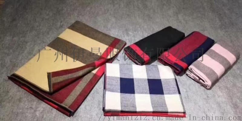 广州伊曼服饰品牌折扣库存女装,羊绒围巾尾货走份