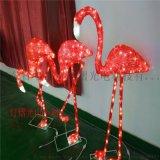 1.2米高滴膠火烈鳥 LED動物裝飾燈 聖誕裝飾燈