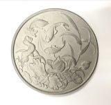 不锈钢精密铸造 硅溶胶工艺 cnc加工 创意茶杯垫