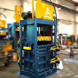 60吨双液压缸棉纱打包机 液压打包机 立式打包机