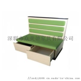 储物柜功能型沙发定做开盖沙发**餐厅沙发卡位厂家