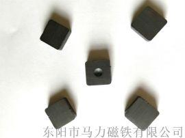 供应永磁铁氧体磁铁 正方形形状强力磁铁块 磁钢