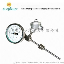 WTYY-1021 p100热电阻远传双金属温度计
