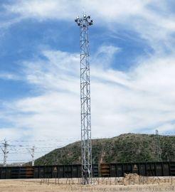 货场站场照明  升降式投光灯塔