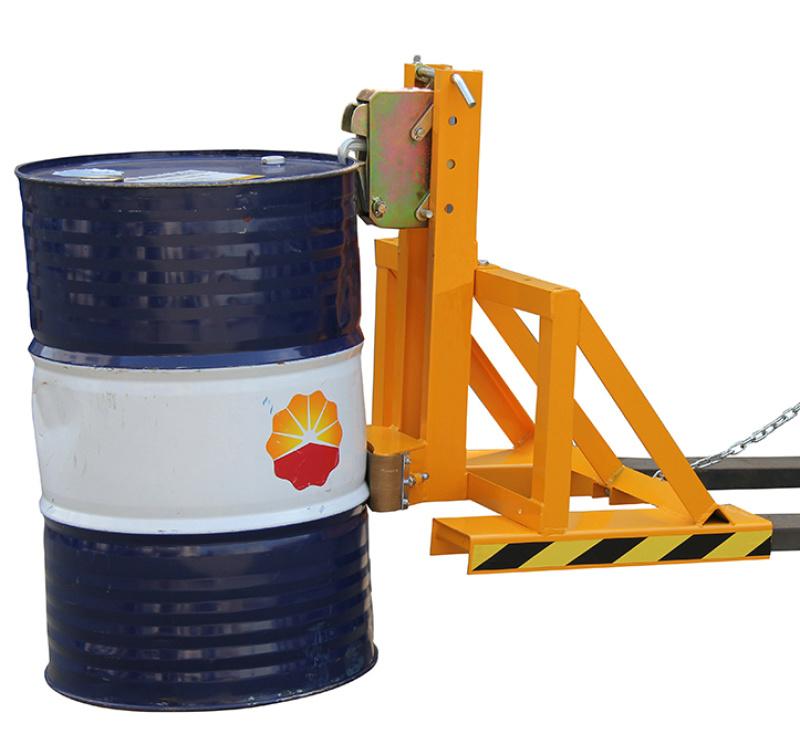 油桶搬运夹具DG500A单鹰嘴油桶夹具叉车属具