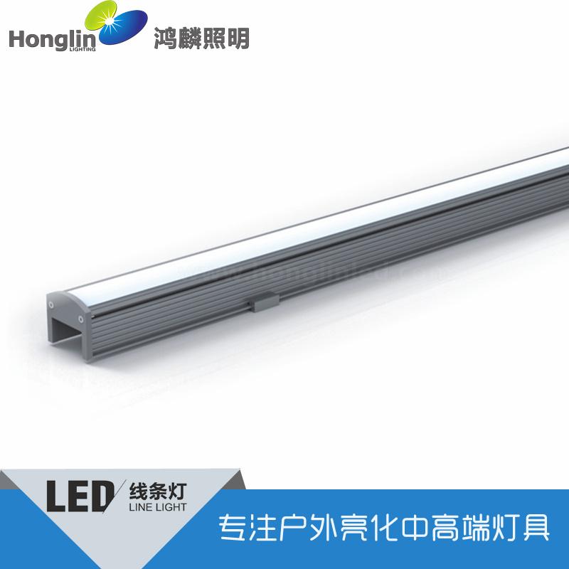 底下藏線安裝led線條燈_精準投光線形燈