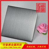 拉丝无指纹不锈钢板 发纹灰色亮光不锈钢板图片