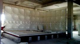 组合水箱 不锈钢消防水箱玻璃钢组装水箱厂家