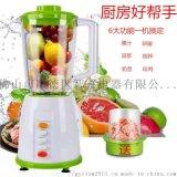 广东批发二合一料理机 家用多功能搅拌机榨汁机豆浆机
