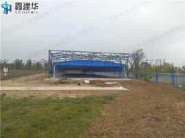 芝罘区PVC布料/电动推拉雨篷/固定遮阳棚安装步骤