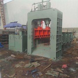 140吨立式液压刨丝压块机 无纺布易拉罐压包机