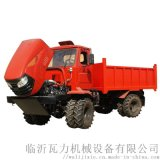 農用四驅柴油折腰轉向運輸拖拉機 四驅糧食轉運車