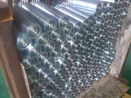 动力辊筒机 积放式辊筒输送线 六九重工包胶滚筒线