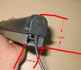 三元乙丙密封条 安全触边密封条 防撞条 各种规格安全触边