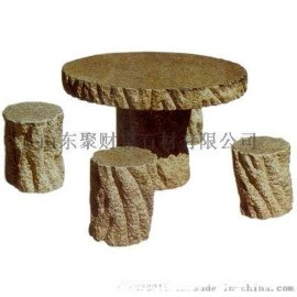 精品石桌石凳,天然石材工艺品厂家批发