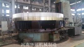 订做加工回转窑大齿轮,大齿圈生产制造厂家-河南华冠