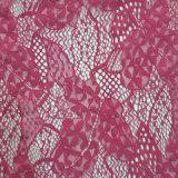 大花骨线蕾丝布料 时装礼服高雅蕾丝面料可定制