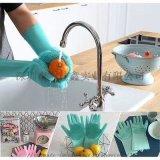 防烫厨房手套 硅胶刷手套厨房洗碗清洁手套