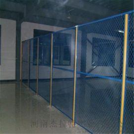河南杰拉特高速公路护栏网双边丝护栏工厂车间隔离网
