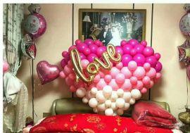 昆明花語花香婚禮氣球婚房氣球婚慶氣球