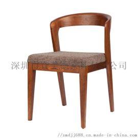 餐饮实木餐椅古典中式椅子定做餐厅家具工厂款式可选