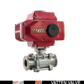德国VATTENQ41F-16P 气动球阀中德合资上海工厂  电动卡箍球阀