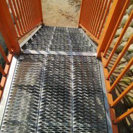 熱鍍鋅防滑板 鱷魚嘴腳踏板 衝孔防滑板