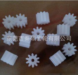 塑料马达小齿轮 玩具配件 标准玩具塑料齿轮