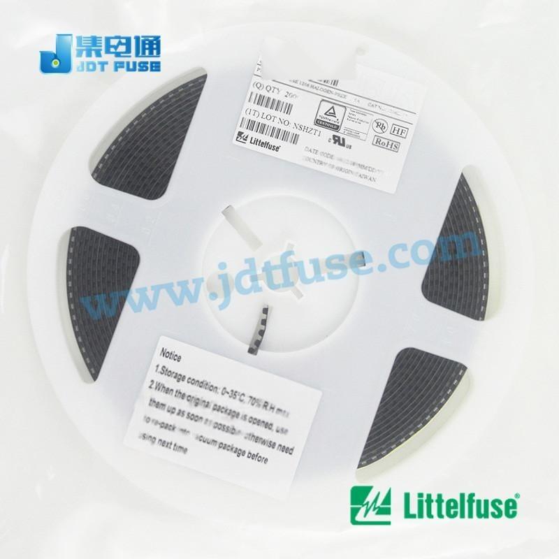 低电阻保险丝0402L050SLKR Littelfuse0402可恢复保险丝0.**/6V