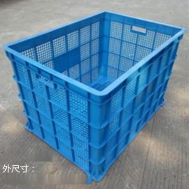 廠家直銷 850*600*570 PE塑料周轉筐 服裝塑料筐 物流筐