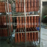 250公斤紅腸煙燻爐 蒸煮烘烤煙燻一次完成 蒸汽加熱更節能 舒克