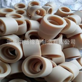 生产供应 白色尼龙衬套 机械用尼龙塑料配件 耐磨尼龙套 可定做