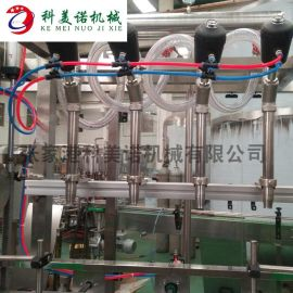 全自动定量直线式灌装机 ,直线式灌装机厂家
