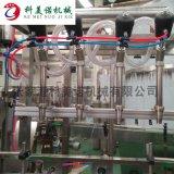 全自動定量直線式灌裝機 ,直線式灌裝機廠家
