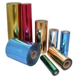 电化铝烫金纸烫金膜烫印膜 射膜拉丝银拉丝金