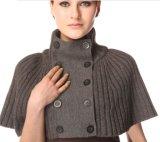 厂家直销2014春秋新款女装英伦气质针织羊毛披肩