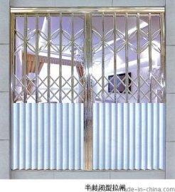 广东佛山不锈钢拉闸门厂家,不锈钢拉闸门价格批发半封闭型