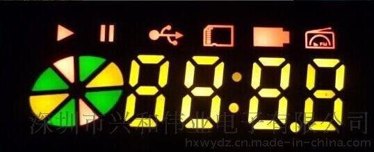 单排脚LED数码管彩屏 兴和伟业3615音箱数码管