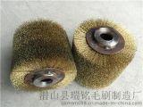 鋼絲輪工業毛刷輥 尼龍毛刷輥 鋼絲刷輥 彈簧刷輥 銅絲刷輥