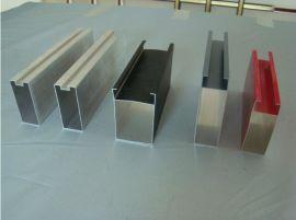 国景木纹铝方通  铝型材方通 U型铝方通吊顶装饰材料厂家