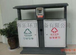 上海奔乐环卫户外不锈钢垃圾桶
