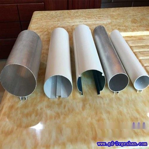 铝合金圆管 铝型材圆通 江西铝圆管价格