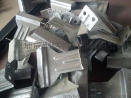 85-135铝镁锰合金板支座, 820型760型1050型彩钢瓦瓦扣支架支座
