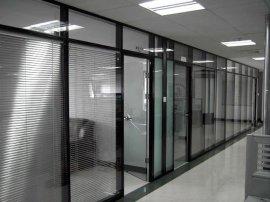 85款高隔间办公玻璃百叶隔断型材